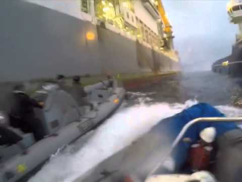 Canary Islands oil drilling protest