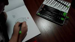 How to draw pussy cat