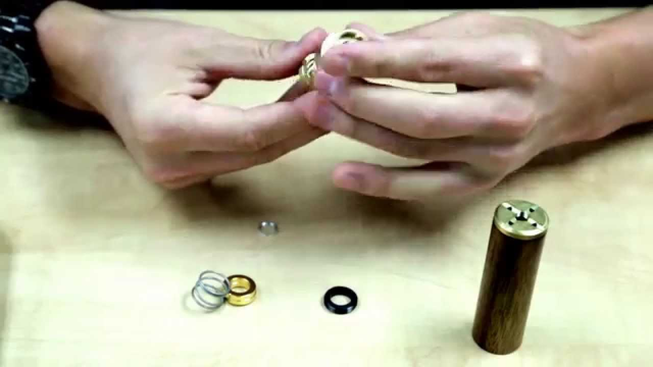 Limitless Mod Button Review Assembly Gold Plated Magtnets Youtube