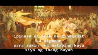 Hindi pa tapos lyrics - gloc9 ft. Denise Barbacena