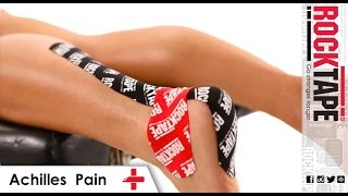 RockTape - Kinesiology Tape Instruction - Achilles Pain