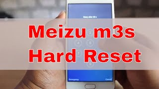 meizu m3s Hard Reset - Unlock without Password