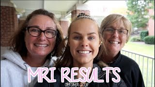 MRI RESULTS! | Oct 2018