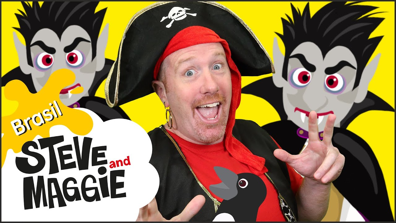 Novo video de Festa de Halloween na Casa Assombrada de Steve and Maggie Brasil