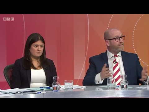 BBC Question Time Carlisle - 30th March 2017