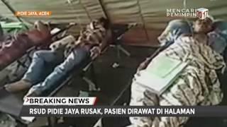 Penanganan Medis Korban Gempa Dilakukan Seadanya