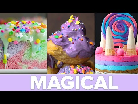 Magically Delicious Unicorn Desserts