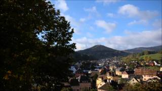 Orbey, France Time Lapse October 2011