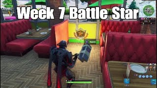 Season X Week 7 Secret Battle Star Location - Fortnite