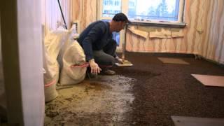 видео Утепление бани при помощи керамзита