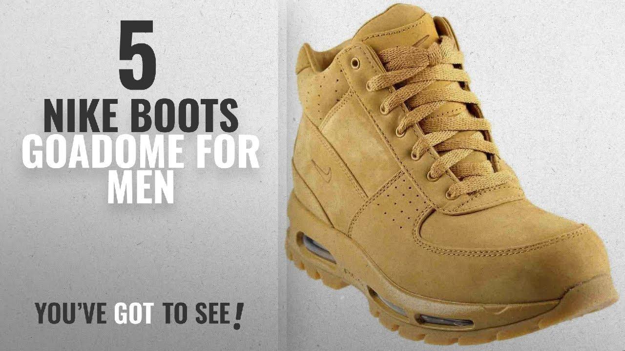 separation shoes d5872 be798 Top 10 Nike Boots Goadome   Winter 2018    Nike Men s Air Max Goadome QS  Flax Flax Gum Light Brown