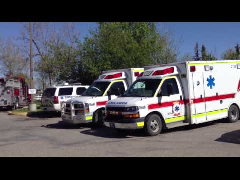 Car Accident! near Moses Lake AB Community.Blood Tribe Police and Ambulance, Cardston County ES,RCMP