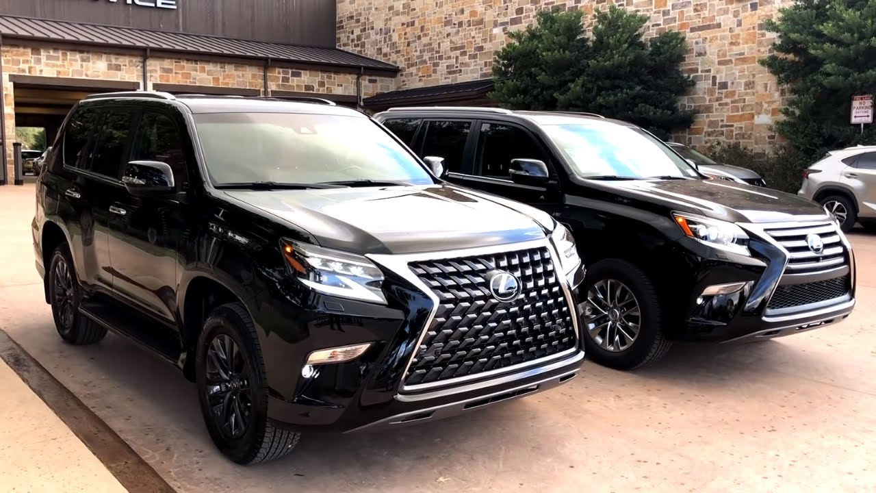 2019 Lexus Gx 460 Premium Vs Luxury