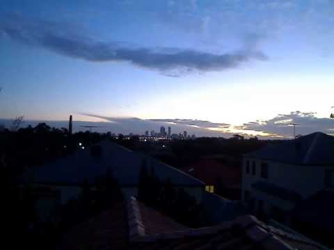 Sunset Perth 05-07-2013