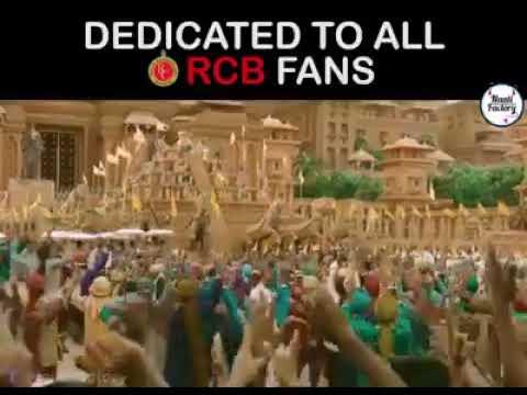 Latest WhatsApp status dedicated to All RCB fans | PRABHAS |