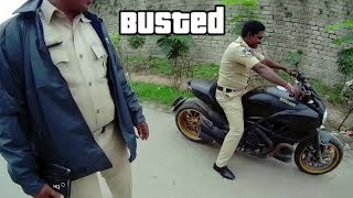 DUCATI BUSTED !!!