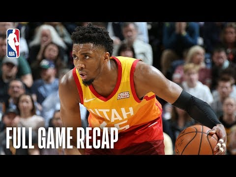 NUGGETS Vs JAZZ | Donovan Mitchell Goes For 46 Points | April 9, 2019