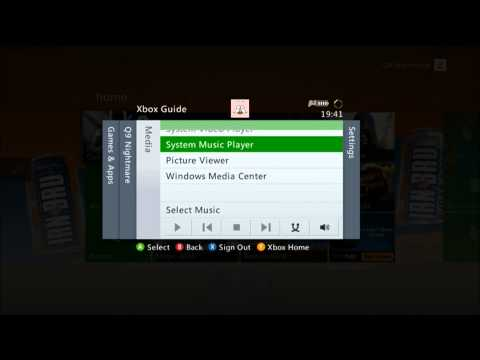 How to play music from your mobile device through xbox360