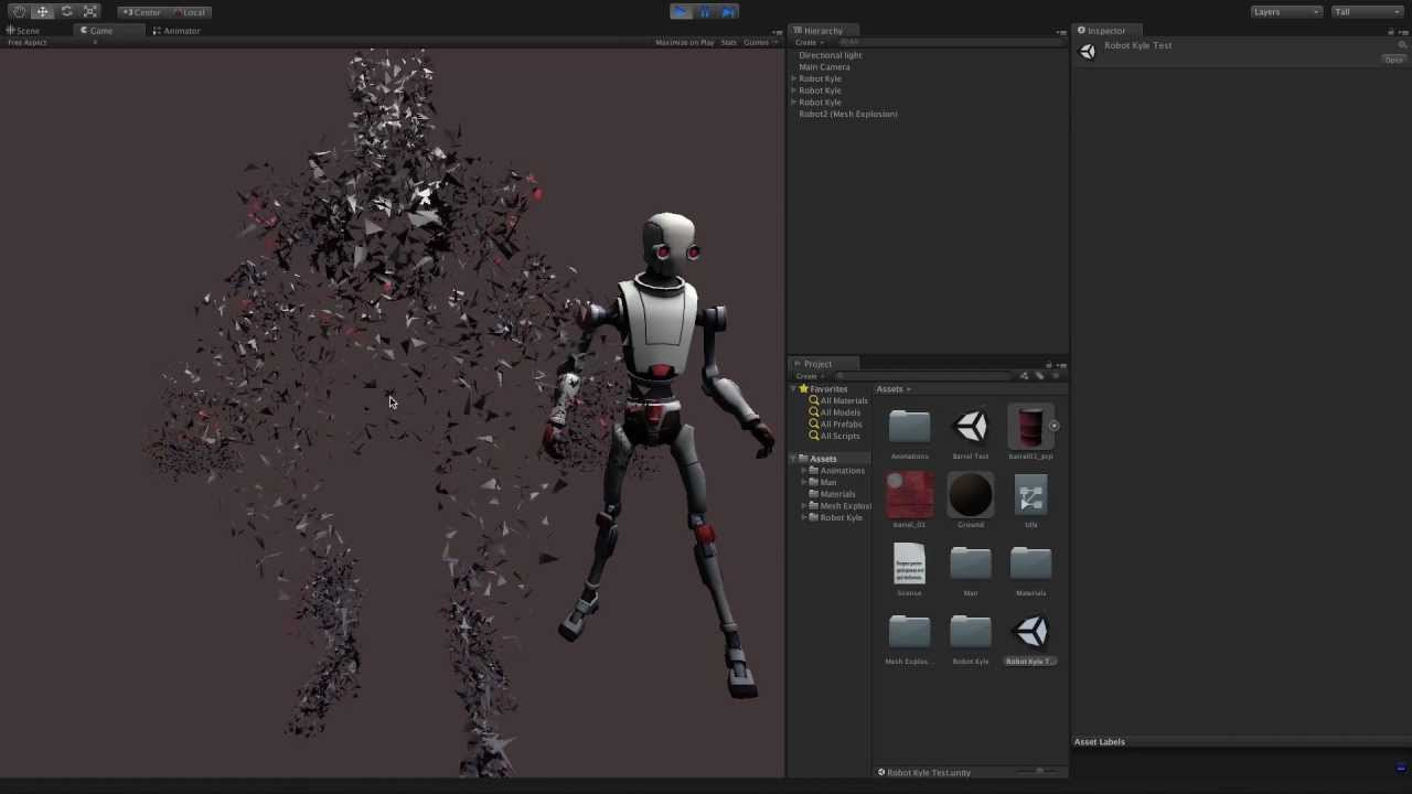 how to make unity assets