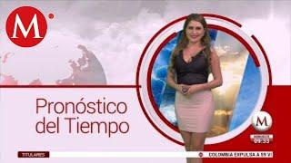 El clima para hoy 25 de noviembre, con América Álvarez