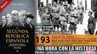 193 - 1942. Grave crisis en España   Cambio de régimen