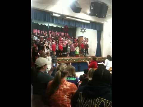 Christmas program  Trout Primary