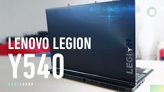 An unassuming workhorse gaming laptop - Lenovo Legion Y540 Review