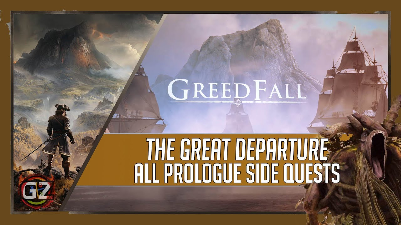 Greedfall 2019 | The Great Departure & All Side Quests | Prologue | RTX 2070