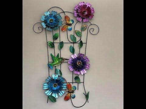 DIY Flower Wall Decor 2