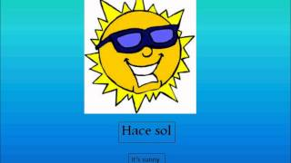 Spanish Weather Phrases Lesson