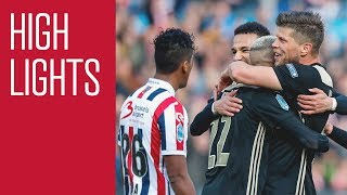 Highlights bekerfinale Willem II - Ajax