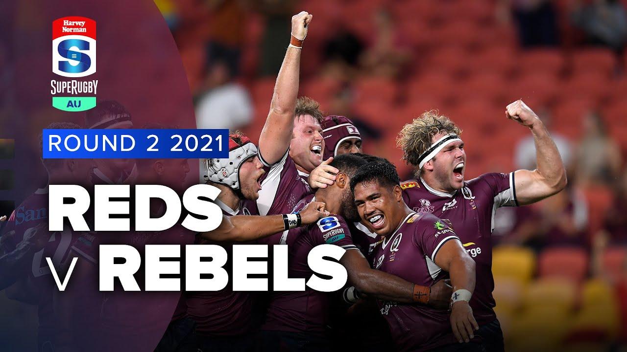 Super Rugby AU | Reds v Rebels - Rd 2 Highlights