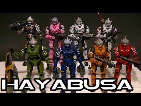 McFarlane Halo 3 HAYABUSA Armor Comparative Figure Review