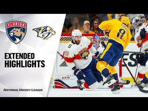 Florida Panthers Vs Nashville Predators Oct 19, 2019 HIGHLIGHTS HD