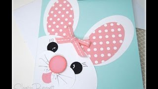 Stampin Up Easter Bunny Punch Art - DSC#220