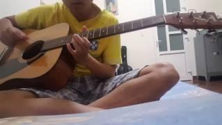 Trái tim anh thuộc về em guitar cover. Huân