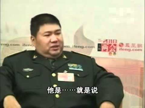 Mao's Grandson's senselessly babbles for 2 minutes during interview