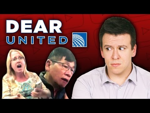Thumbnail: WOW! Man Violently Thrown Off Plane Because United Overbooked Flight.