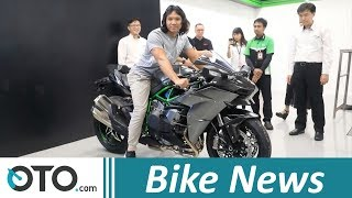 Kawasaki Ninja H2 Carbon Unboxing | Bike News | OTO.com