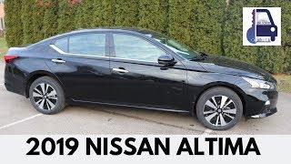 2019 Nissan Altima SV AWD Detailed Walk Around and Review