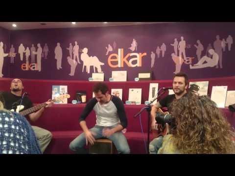 Dikers - Dale Gas - Librería Elkar Pamplona (13 Nov 2015)