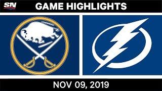 NHL Highlights   Sabres vs Lightning – Nov. 9, 2019