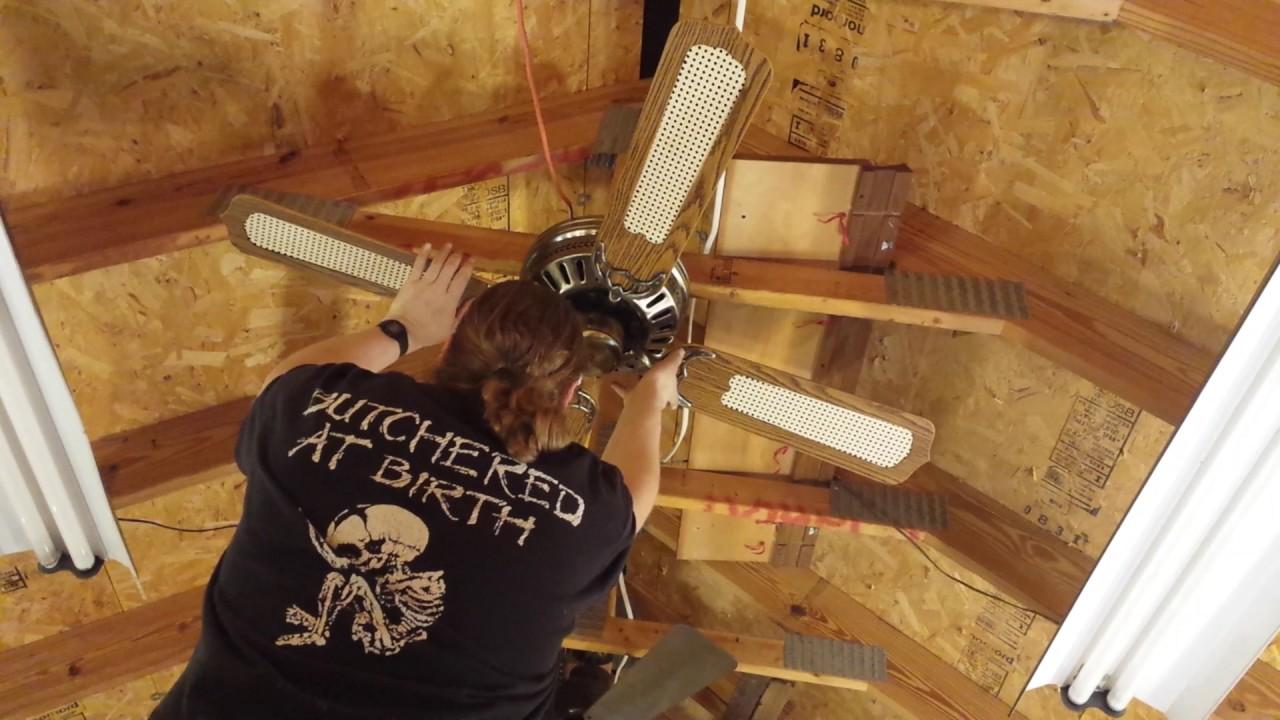 Kenroy Cec Cast Iron Hugger Ceiling Fan