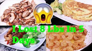 I Lost 8 Lbs In 5 Days What I Ate Today Low Carb/Keto Diet