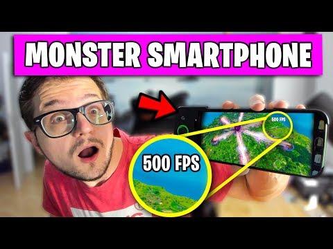 Das MONSTER Smartphone Für Fortnite Android 📲   Deutsch German Black Shark Games Mobile