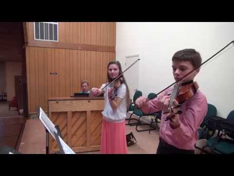 Hannah and Samuel Schafer concert for 50 plus club   April 2017