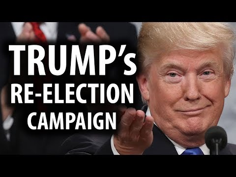 Trump Officially Announces Re-Election Campaign for 2020