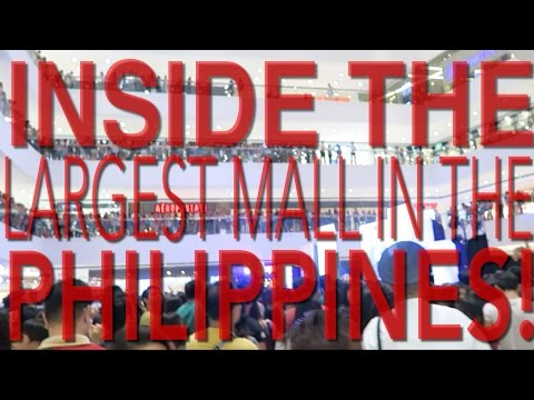 SHOP WITH ME INSIDE THE LARGEST MALL IN THE PHILIPPINES!! - THE MEGA MALL
