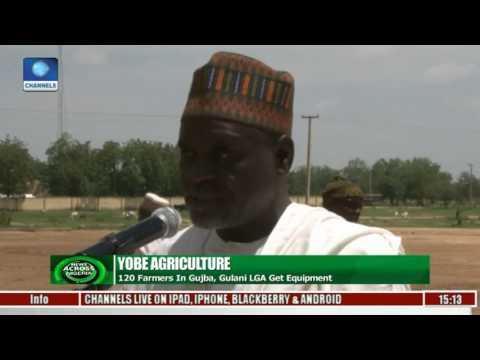 Yobe Agriculture: 120 Farmers In Gujba, Gulani LGA Get Equipment