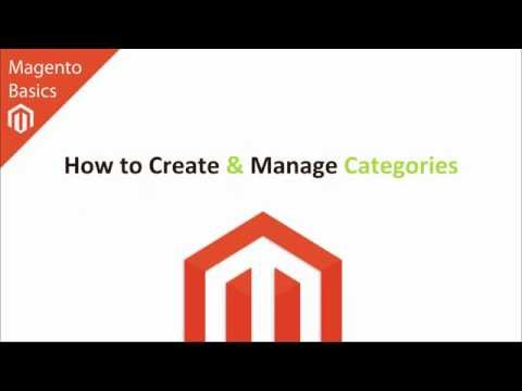 Magento Basics - How to Create and Manage Categories